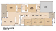 Click Boulevard 32 Floor Plan to view larger PDF version
