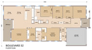 Click Boulevard 32 Floor Plan Reversed to view larger PDF version