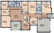 Click Cambridge Prestige Floor Plan Reversed to view larger PDF version